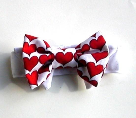 bow tie dog hearts for that valentine wedding - Valentine Ties